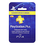 Sony - Tarjeta PSN Plus Para 365 Días  (PS4)