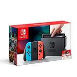 Nintendo Switch - Consola color Azul Neón/Rojo Neón
