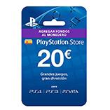 Sony - Tarjeta Prepago 20€ (PlayStation)