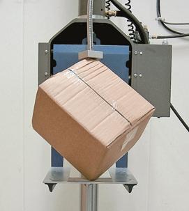 un carton con control de cualidad