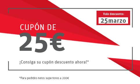Ahorra 25€ en tu próximo pedido.