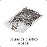 Bolsas de plástico o papel