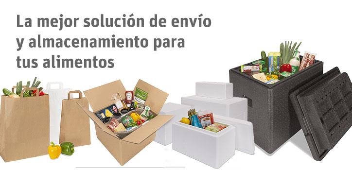 Embalajes para alimentación